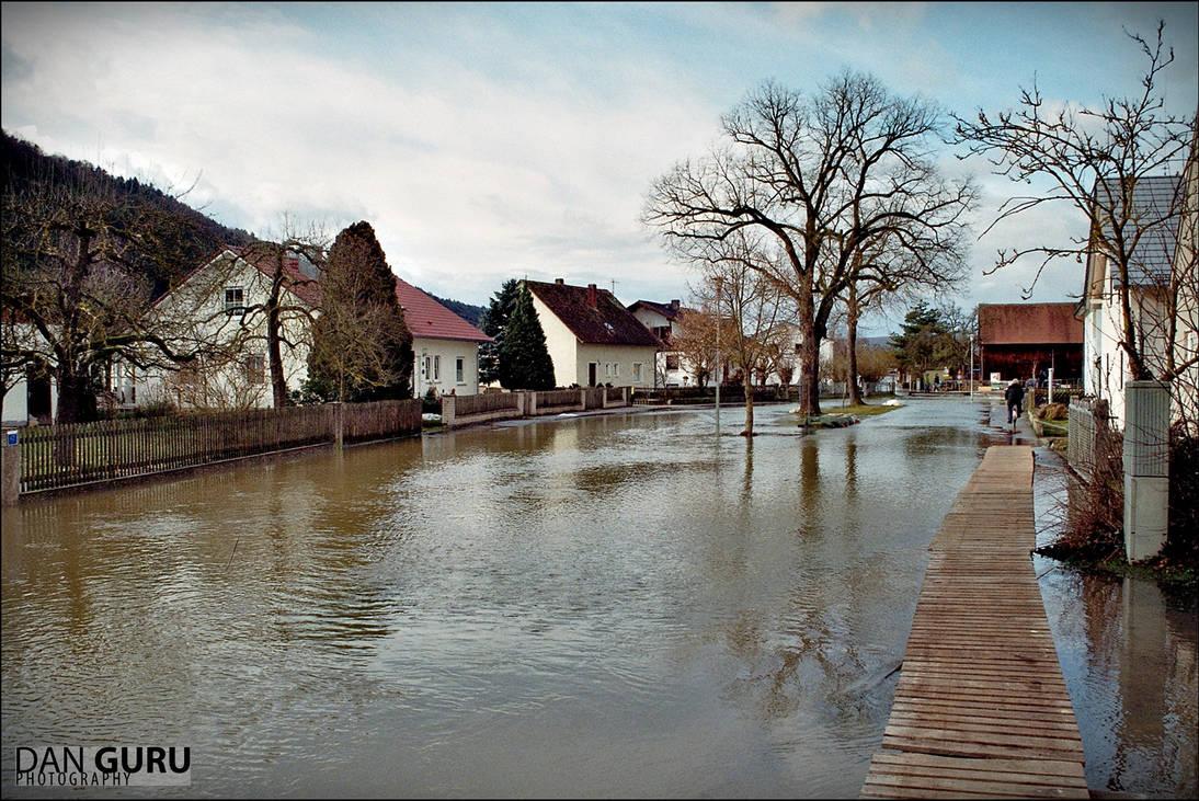 Bavarian Floods - Street II by RoqqR