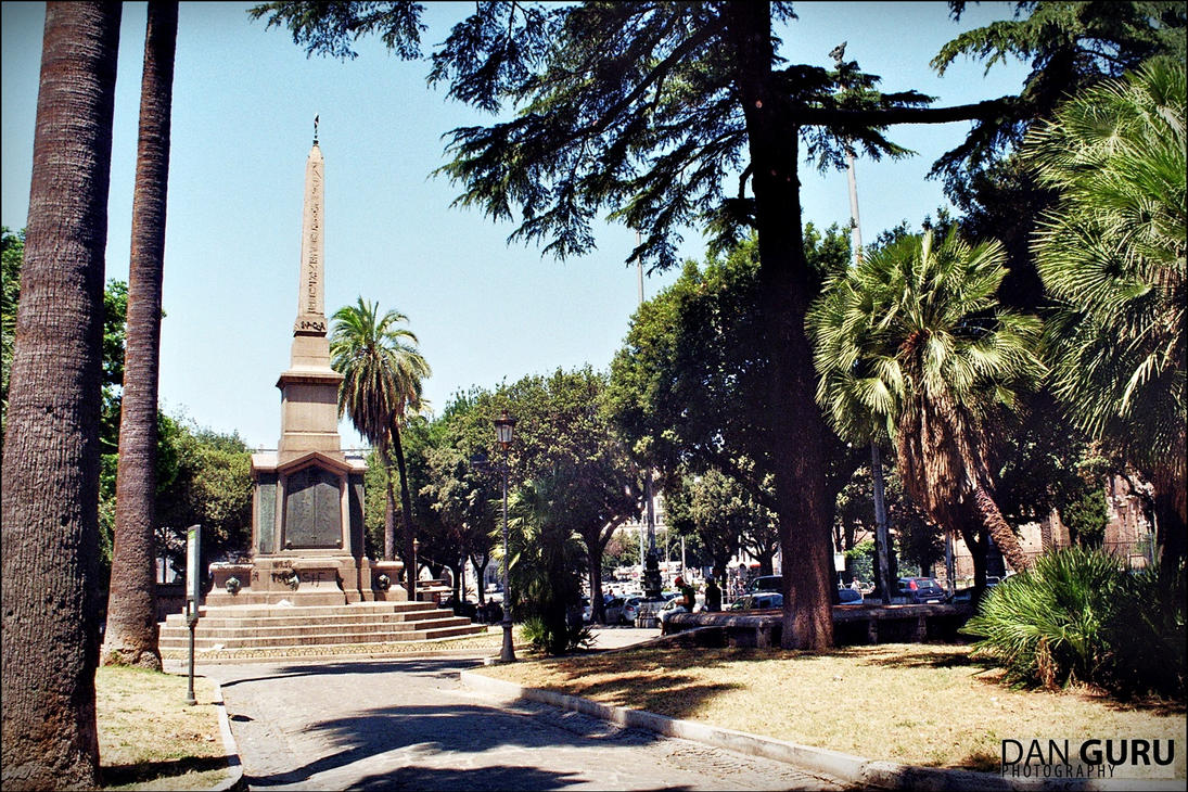 Obelisco di Dogali by RoqqR