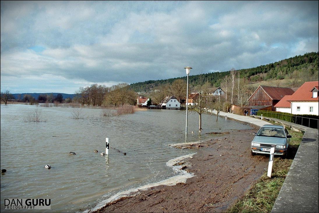 Bavarian Floods - Street III by RoqqR