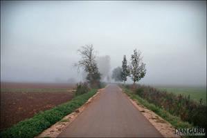 Through Fog - Towards West by RoqqR