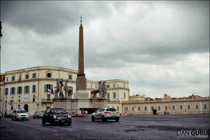 Piazza del Quirinale by RoqqR