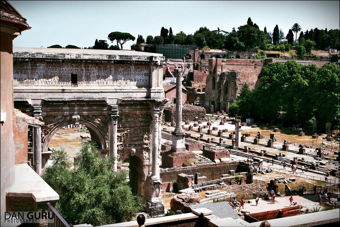 Forum Romanum I by RoqqR
