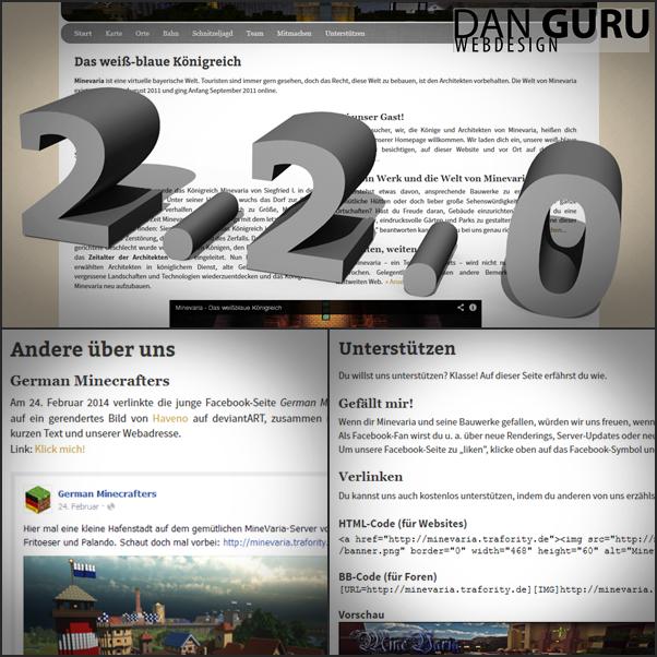 Minevaria Website 2.2