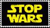 Stamp: Stop Wars