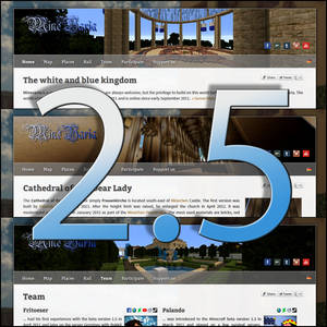 Minevaria Website 2.5