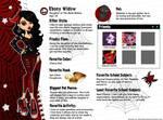 Monster High OC Ebony Widow Bio