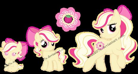 My Little Pony OC - Raspberry Delight by teddy-beard