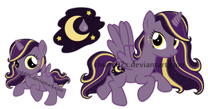 My Little Pony Adoptable - Moon Drop