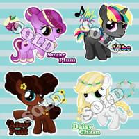 Pony Adoptables by teddy-beard