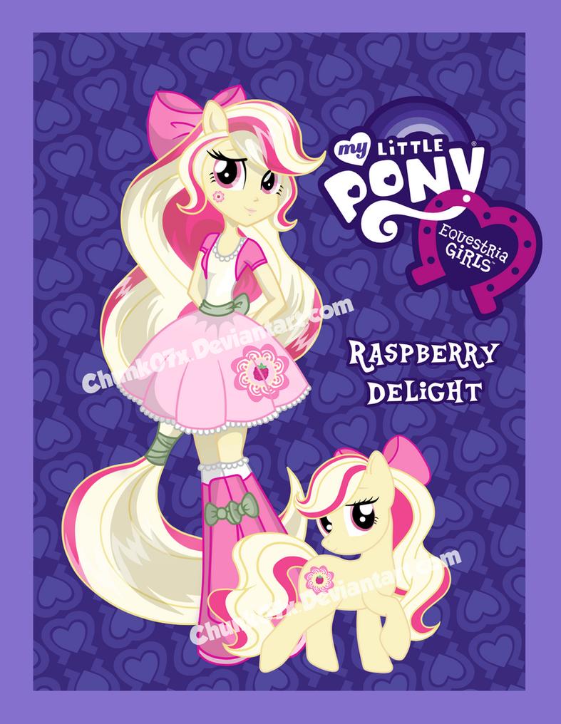 Equestria Girls OC - Raspberry Delight by chunk07x