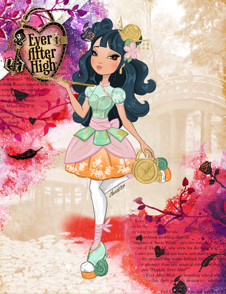 Ever After High Oc - Nymphaea Nixie by chunk07x