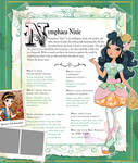 Ever After High Oc Bio - Nymphaea Nixie