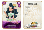 Ever After High Oc Card - Nymphaea Nixie