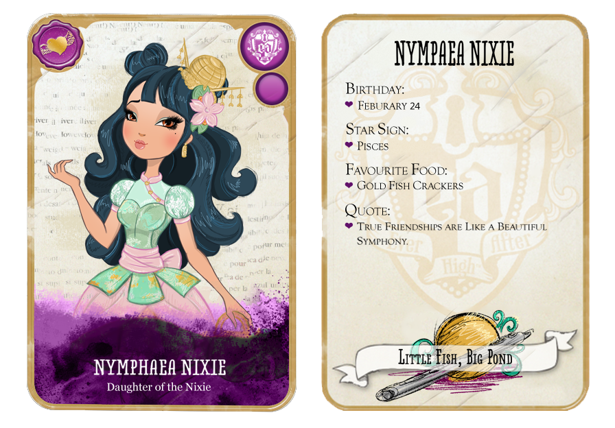 The gallery for --> Ever After High Character Names