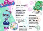 Monster High Oc Taisie Bonaire Bio