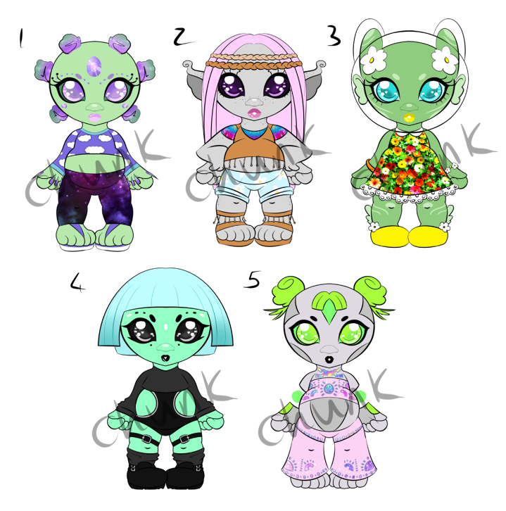 Chubby Alien Adopts - Open by chunk07x