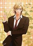 Ren Jinguji on the glasses