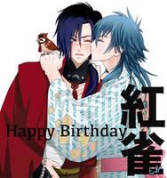 Koujaku Happy Birthday by chienu