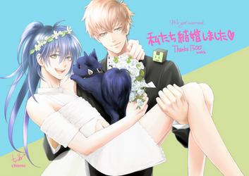 We got married. by chienu