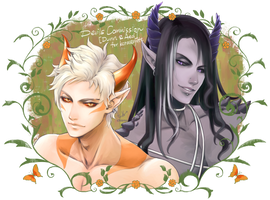 Devils [Commission-023] by chienu