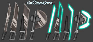 Cross Fate: Melee Weapons 2