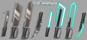 Cross Fate: Melee Weapons 1