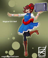 Magical Girl Neil by DKDevil