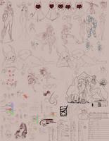 Sketchbook 20 by DKDevil