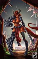 Demon Girl by DKDevil