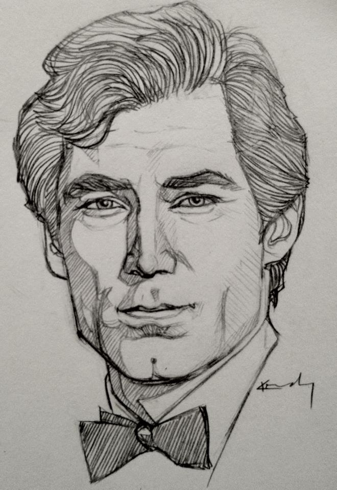 Portrait Sketch - Timo...