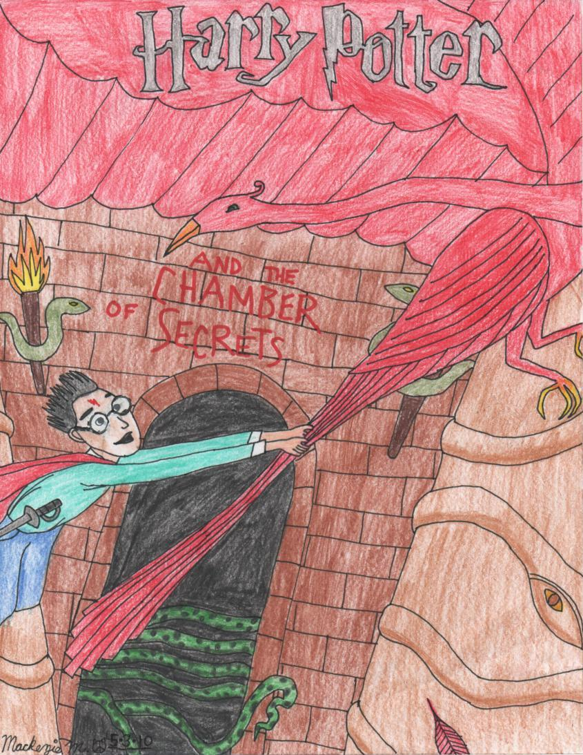 Harry Potter Book Cover Drawing : Harry potter book cover by mackcat on deviantart