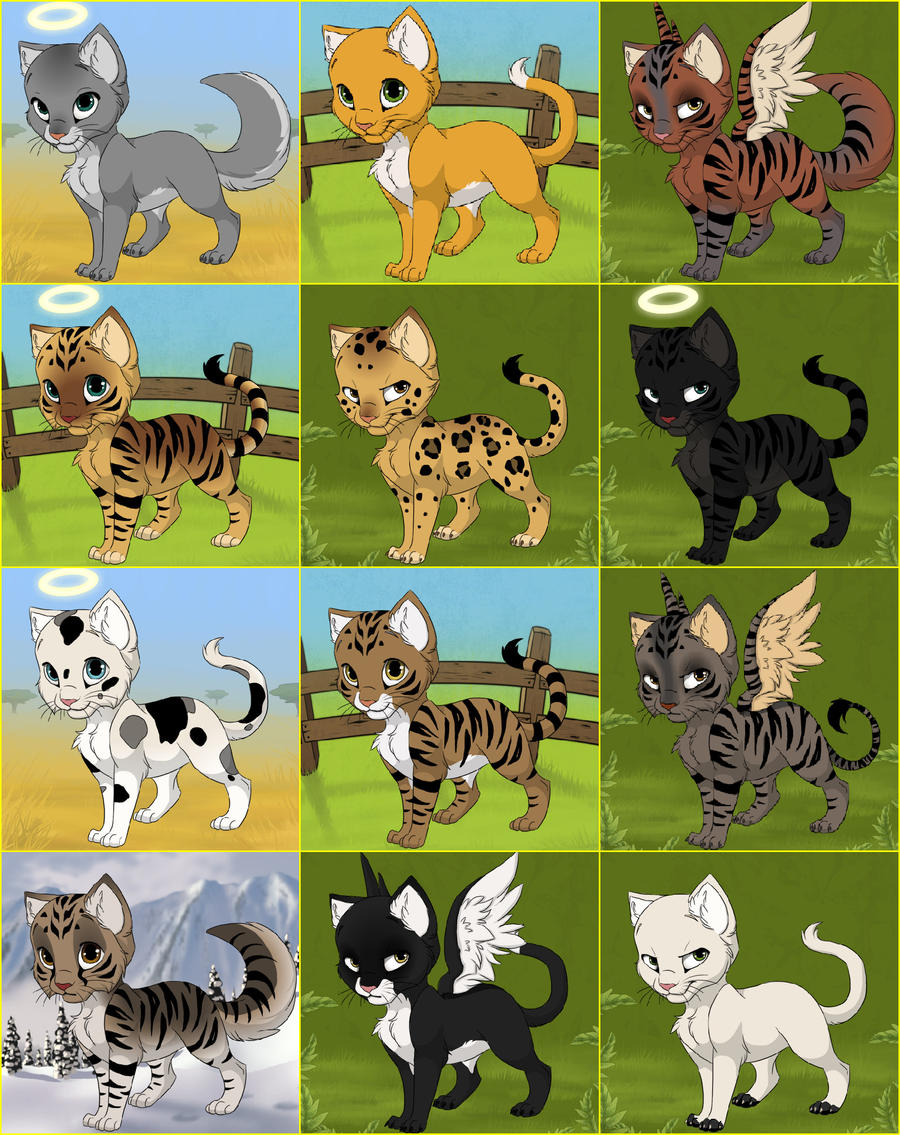 Warrior leaders kitten maker by mackcat2118 on deviantart