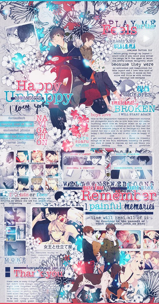 [MAL] Happy Unhappy Moments by soaru-san