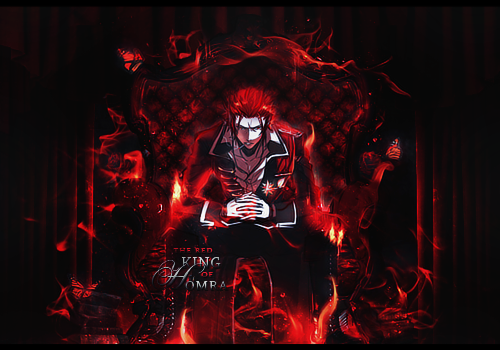 the Red King of Homra by soaru-san
