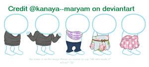 :f2u: Wip base clip by Kanaya--Maryam