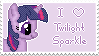 Twilight Sparkle Stamp by muchunka
