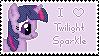 Twilight Sparkle Stamp by muchunka