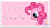 Pinkie Pie Stamp by muchunka