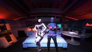 Mass Effect: Liara T'Soni w/ EDI - #07 (bikini)