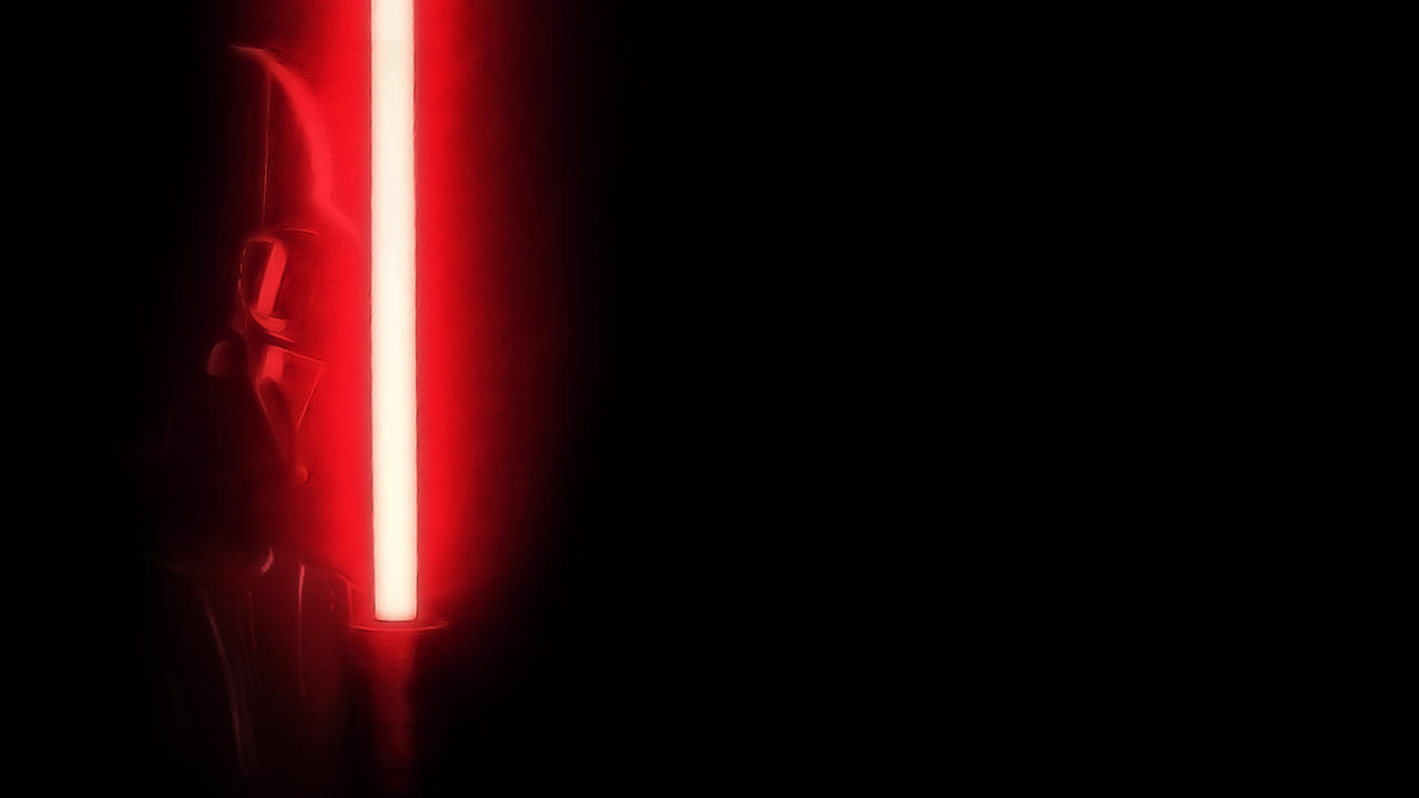 star wars darth vader w red lightsaber wallpaper by