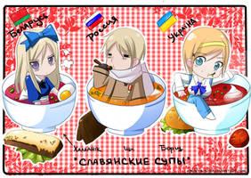 Belarus,Russia and Ukraine[APH] by KseNiYA-sovA