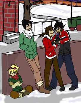 Christmas street...