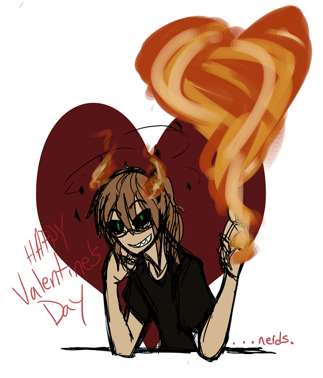 Happy Valentine's Day by WingedNovelist