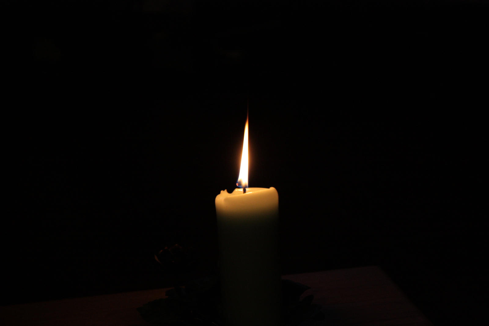 candle in the darkness A candle in the darkness we all understand the concept of lighting a candle in the darkness a candle will always light up a dark room just as love always wins over hate.