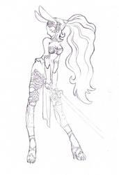 Fran sketch by LoverSHOT