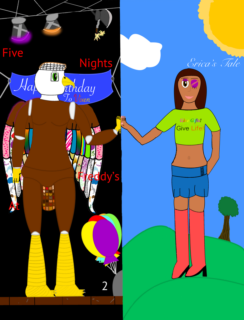 Fnaf comic ericas tale cover by x saphiremoon x on deviantart