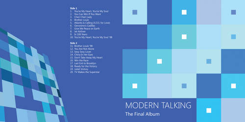 Modern Talking - The Final Album Vinyl design #1 by TeddyDD