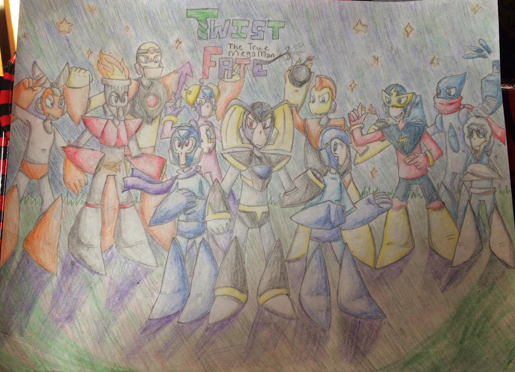 Twist Fate: The True Mega Man COVER by Flamebearrel