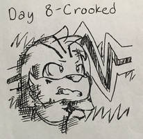 Inktober 2017 - Day 8 - Crooked