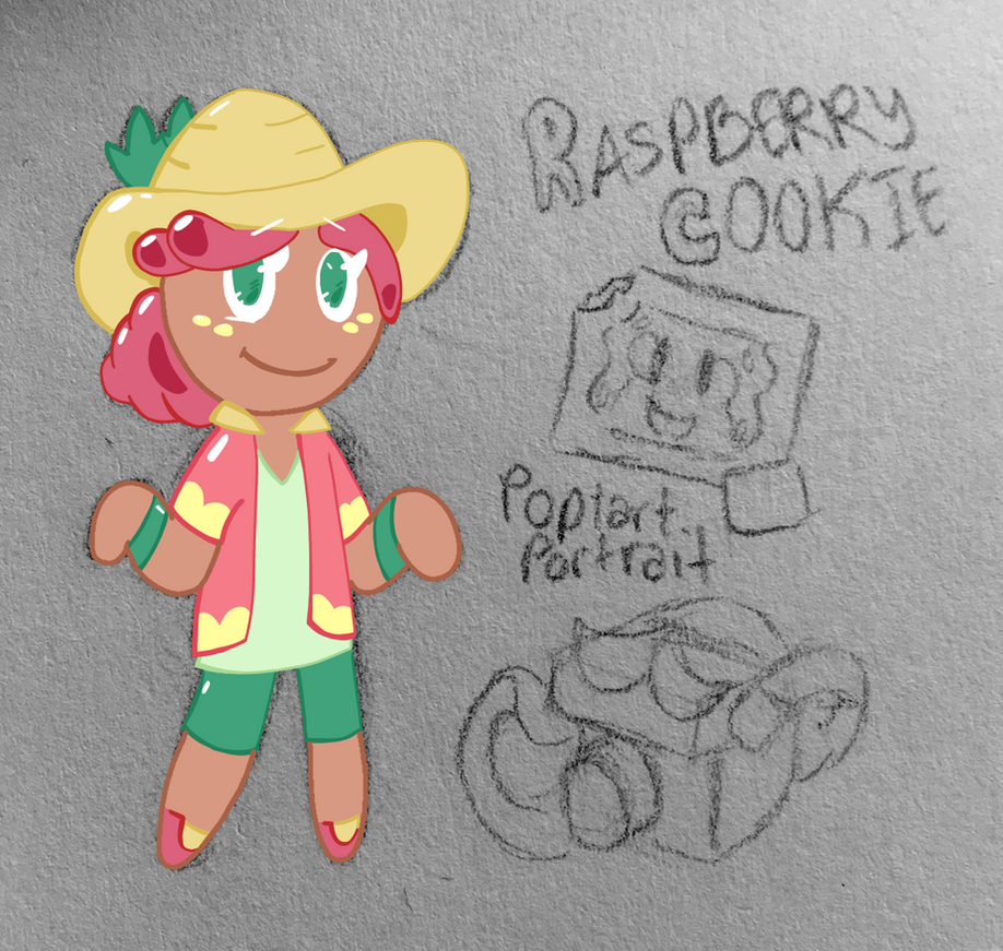Raspberry Cookie by Flamebearrel